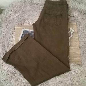 Guess linen pants, vintage, XS